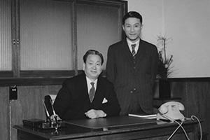 河野弘が代表取締役社長に就任。